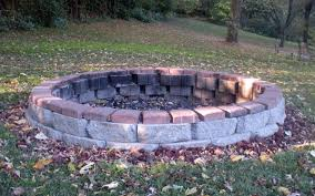 building an outdoor fire pit with stones outdoor how to build a fire pit with stone