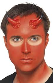 more views of devil special effects make up