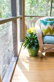 drab to colorful screen porch reveal pretty handy girl