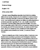 why smoking should be illegal persuasive essay docoments ojazlink should cigarette smoking be banned argumentative essay docoments