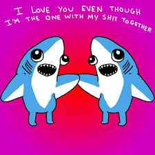 valentines days cards 5 valentines day cards for the left shark in your life