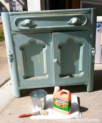 Stripping Painted Furniture The Garbage Bag Trick 2 Little