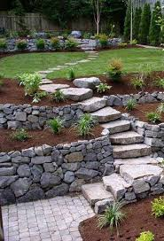 Small Picture The Best 23 DIY Ideas to Make Garden Stairs and Steps