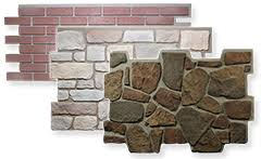 faux stone exterior wall panel