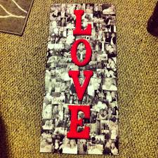 paintable wooden letters fresh picture collage printed of pictures mod podged to a piece of of