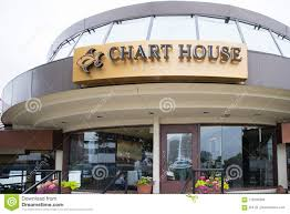 Chart House Seafood Restaurant Front Editorial Stock Image