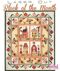 7 best Block of the Month Quilt Programs images on Pinterest ... & Pumpkin Patch Lane Block of the Month OR All At Once! with FREE Fabric  Accessory Pack for Reservations Placed by by The Quilt Company Adamdwight.com