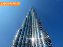 famous buildings. BurjKhalifa, Dubai Famous Buildings