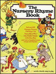 sentinel the nursery rhyme book vocal sheet with piano three blind mice jack jill