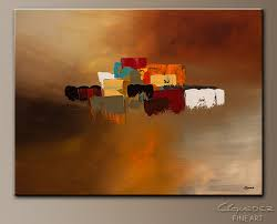 reflexions abstract art painting image by carmen guedez