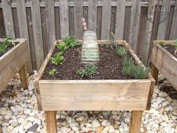 elevated garden bed. I Like The Look Of Making A Full Garden Out Mini Elevated Raised Beds. Basically They Built Bunch Bed