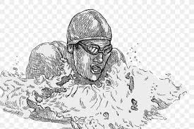 Image result for swimming drawing
