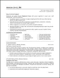 rn resume objective resume objective for nurses emergency room nurse resume objective