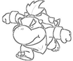 Bowser Jr Coloring Pages Coloring Home