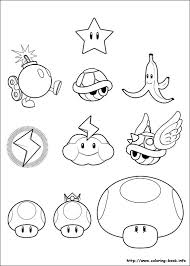 Super Mario World Coloring Pages Super Bros Pictures To Print And