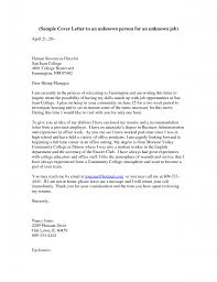 Cover Letter How To Address Someone In A Cover Letter Online All
