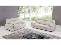 italian leather sofa set. Modren Set Light Gray Italian Leather Sofa Set With