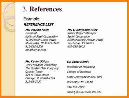 How To Write A Reference In A Resumes Kordurmoorddinerco Fascinating How To Write References On Resume