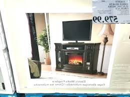 ember hearth electric media fireplace costco wall lovely delightful modern of amazing em