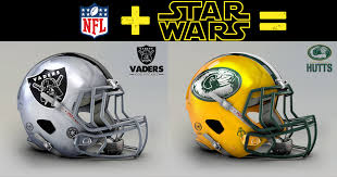 all 32 nfl helmets transformed for star wars