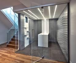 glass enclosed wine cellars – stact wine racks