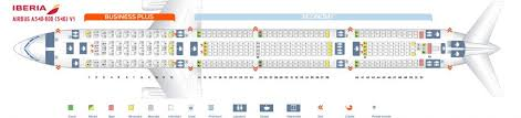 Airbus A340 500 Seating Chart Iberia Economy Premium Seat Map Best Description About