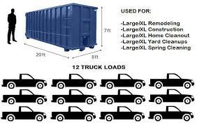 Dumpster Sizes Chart 40 Yard Dumpster Rental Dumpstermaxx