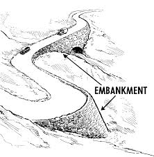 Embankment Design Example Embankment Earthworks Wikipedia