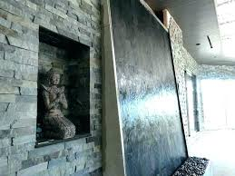 wall water fountains for floor fountain tall indoor on slate large scale large wall water