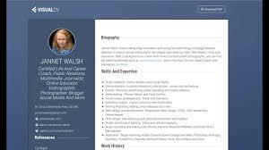 Visual Cv Builder Create Online Resume Visualcv Com