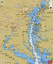 Chesapeake Bay Northern Part Marine Chart Us12280_p2974
