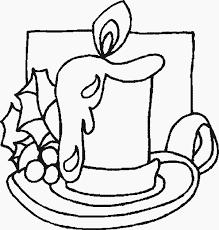 Kerst Kleurplaten Van De Kerstman Kerstengel Kerstboom Kaarsen