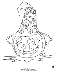 Jack O Lantern Pumpkins Coloring Pages
