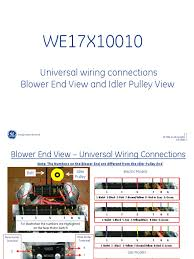 we17x10010 motor wiring diagram we17x10010 image ge we17x10010 dryer motor universal wiring connections tech help on we17x10010 motor wiring diagram