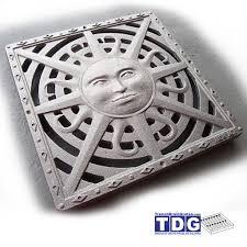 Decorative Metal Grates 9 X 9 Decorative Cast Iron Grate Interlaken