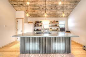 rustic tile kitchen countertops. Plain Kitchen Rustic Kitchen Countertops With Concrete Counters Pendant  Light Built In Bookshelf Engineered Tile   With Rustic Tile Kitchen Countertops T
