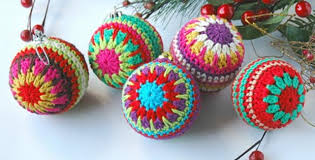 Free Christmas Crochet Patterns Unique Christmas Crocheted Baubles [FREE Crochet Pattern]