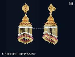 Buttalu Designs Gold Gold Pearl Buttalu Designs Gold Earrings Designs Real