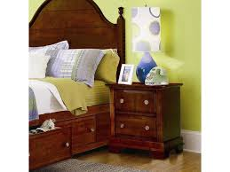 new trend furniture. Vaughan Bassett Cottage Two Drawer Nightstand Great American Home Products Color Metal Scalloped New Trend Furniture