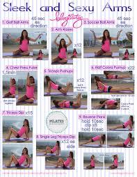pilates bootc sleek and y arms printable