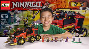 NINJA DB X - LEGO NINJAGO 2015 Set 70750 - Time-lapse Build, Unboxing &  Review! - YouTube