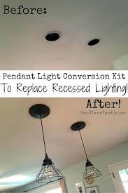 ceiling lights ceiling light conversion kit recessed re blog portfolio pendant lights unique design fan