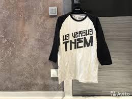 Лонгслив Us versus them - Личные вещи, Одежда, обувь ...