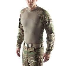 Massif Usgi Fr Combat Shirt Acs Flame Resistant Multicam