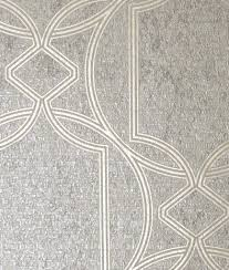 Deco Geo Taupe In 2019 Gold Wallpaper Ideas Boutique Wallpaper