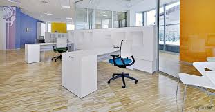 person office desk. 45 White 1 Person Desk Office With Storage