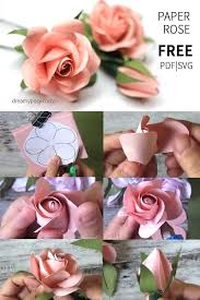Flower Templates For Paper Flowers Template To Make Paper Flowers
