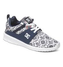 dc shoes high tops for a woman.