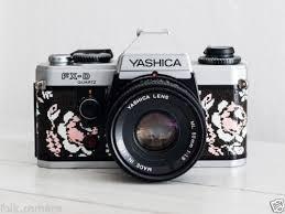 vintage decor clic: yashica fx d lens of choice filter hood