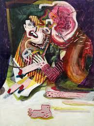 dear artist saatchi art my dear dead dad painting by blake daniels